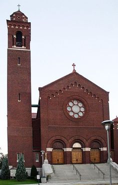 The exterior of my church, Basilica of Our Lady of Consolation in Carey, Ohio.