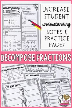 Fractions   4th grade   Math   Khan Academy furthermore 113 Best Math  Fractions images in 2019   Math clroom  Google together with  additionally De posing Fractions Worksheet 4Th Grade for you ⋆ Free Printables moreover  in addition Homework 11 2 de posing fractions   LP10 K  Picture moreover De posing Fractions Worksheets   Locationbasedsummit as well  in addition Fraction Worksheets   Free    monCoreSheets additionally posing And De posing Fractions 4th Grade Worksheets For Graders likewise 299 best Fractions for Third Grade images on Pinterest   Math as well 15 Fun and Exciting Ways to Teach Equivalent Fractions together with Ways to Represent Fractions  A great visual for four different ways likewise Converting Fractions and Decimals  tenths  hundredths  thousandths in addition Variables And Expressions Worksheet Grade Math Image Writing in addition Fraction Worksheets   Free    monCoreSheets. on decomposing fractions worksheet 4th grade