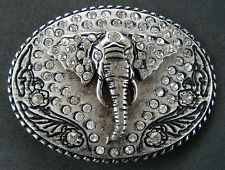 Metal Casual Animal Belt Buckles for Men African Animals, African Elephant, African Safari, Big Animals, Safari Animals, Leather Belt Buckle, Belt Buckles, Elephant Jewelry, Wolf Howling