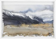 View Fjällmotiv by Lars Lerin on artnet. Browse upcoming and past auction lots by Lars Lerin. Watercolor Trees, Watercolor Artwork, Watercolor Artists, Watercolor Techniques, Watercolor Landscape, Abstract Landscape, Landscape Paintings, Contemporary Landscape, Art Pictures
