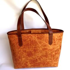 Tan Scrunch Tote www.equisiteleather.com.au