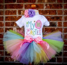 Hey, I found this really awesome Etsy listing at https://www.etsy.com/listing/218864116/my-1st-easter-outfit-easter-tutu-easter
