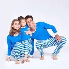Cheap Chance of Family Matching Christmas Pajamas Pjs Sets Families Xmas Sleepwear Nightwear Tops +Stripes Pants Outfits Family Pajama Sets, Family Pjs, Matching Christmas Pajamas, Matching Pajamas, Holiday Pajamas, Striped Pyjamas, Matching Family Outfits, Baby Outfits Newborn, Pants Outfit