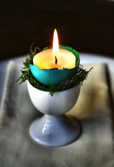 so simple. & a good use for egg cups (or sherry glasses) which never actually get used.