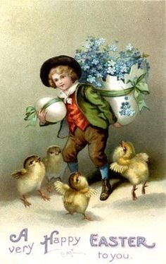 love the old Easter cards-have a few myself