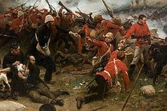 The Defence of Rorke's Drift during the Anglo-Zulu War, January 1879 [Alphonse-Marie-Adolphe de Neuville] Zulu, Cgi, Military Art, Military History, Military Diorama, British History, Art History, Non Plus Ultra, Buda Castle