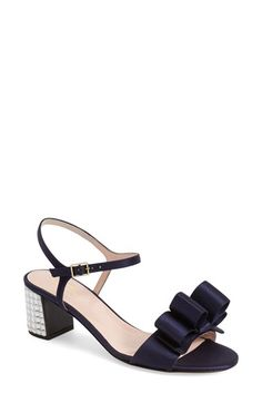 1c3296dd6bc kate spade new york  monne  crystal block heel sandal (Women)