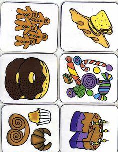 Winkelspel voor kleuters, free printabele / shop for preschool no. 1