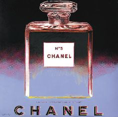 Andy Warhol. Chanel bottle.