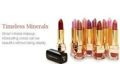 Timeless Minerals - Products that are amazing, and safe for you!    Lipstick that you will love, mineral makeup that is good for you!