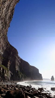 Cliffs of Moher, County Clare, Ireland by Bjørn Christian Tørrissen.
