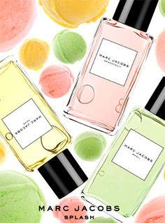 ‎Marc Jacobs Intl has introduced a new line of fragrances called 'Marc Jacobs Splashes', including fruity scents such as grapefruit and pear. We're curious - wüts ür fave fruity fragrance? Is it citrusy lime or grapefruit? Or is it fruity pomegranate or pear? Let us kno! Bc it's all about ü!