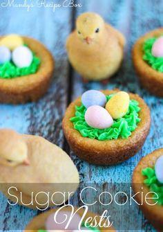 Sugar Cookie Nests | Mandy's Recipe Box