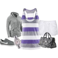 cute athletic wear outfit