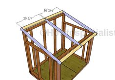 This step by step woodworking project is about generator shed roof plans. This is PART 2 of the project where I show you how to build the roof and the front double doors. Generator Shed, Emergency Generator, Roof Trim, Drip Edge, Asphalt Roof Shingles, Shed Storage, Garage Storage, Diy Shed Plans, Shed Roof