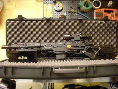 Super Modified Nerf Longstrike Pulse 90FEET Sniper | eBay