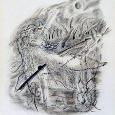 David Jones, Lion Sculpture, Watercolor, Statue, Landscape, Portrait, Drawings, Artwork, Hearts
