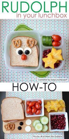 HOW-TO: Make This Adorable Rudolph Bento Lunch │ By Jill of Meet the Dubiens