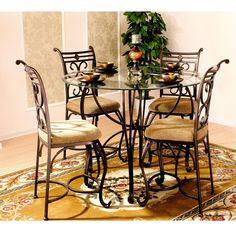 Found it at Wayfair.ca - Excalibur 5 Piece Counter Height Dinette Set