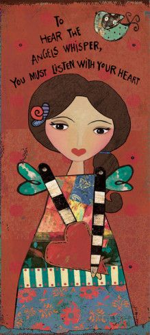 Guardian Angel V Posters by Jo Moulton at AllPosters.com