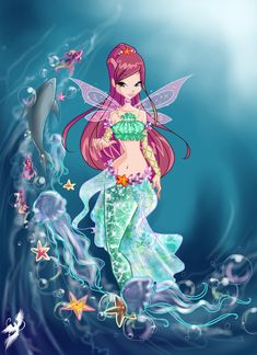 .Roxy mermaid. by fantazyme on DeviantArt