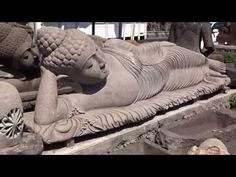 Image result for large reclining buddha garden statues