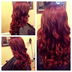 Absolutely love this color maybe go a lil deeper auburn red hair, dark aubu