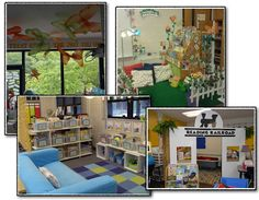 Blog post about inviting classroom libraries and reading areas.  {Creating Readers and Writers}