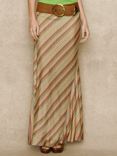 I really need to get back into sewing -- Striped Jersey Maxiskirt - Long Skirts  Skirts - RalphLauren.com