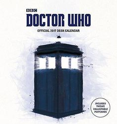 #Doctor who #official 2017 desk easel #calendar (month to view 2017 #calendar) (ca,  View more on the LINK: http://www.zeppy.io/product/gb/2/381828436232/