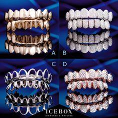 Pick your favorite  Custom Grillz, Diamond Grillz, Grills Teeth, Jewelry Accessories, Jewelry Design, Gold Teeth, Chain Pendants, Luxury Jewelry, Retro