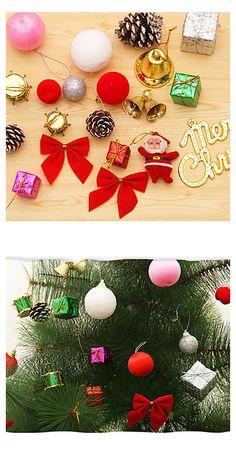 Christmas Tree Ornament Bag Set