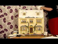 April Cottage Dolls' House Winter Scene