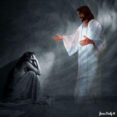 God and Jesus Christ Lord And Savior, God Jesus, Image Jesus, Jesus E Maria, Pictures Of Jesus Christ, Bible Pictures, Jesus Christus, Prophetic Art, Son Of God