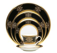 Noritake China: Elegant Dining: Bone China: Evening Majesty