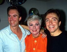 Shaun Cassidy, Shirley Jones and David Cassidy, 1970s  A Mother And Her Two Sons