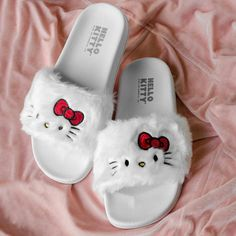 Chinelo Slide Hello Kitty White bandUP! store