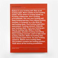 Classic Advice Print