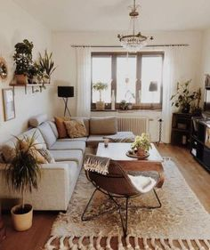 Adorable Perfect Apartment Living Room Decor Ideas On A Budget. - - Adorable Perfect Apartment Living Room Decor Ideas On A Budget. Living Room Furniture Adorable Perfect Apartment Living Room Decor Ideas On A Budget. Boho Living Room, Small Living Rooms, Home And Living, Bohemian Living, Living Room With Plants, Living Room Apartment, Living Room Wood Floor, Mid Century Modern Living Room, Cheap Apartment