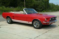 1967 Mustang GT Convertible