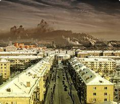 Magnitogorsk, Russia Found on architectureofdoom.tumblr.com