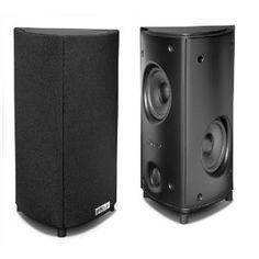Polk Audio RM8 Wide-Dispersion Array Satellite Speakers (Pair, Black)