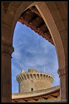 Mallorca - Castell de Bellver - Una vista diferent  Baleares  Spain