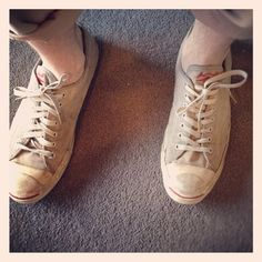 Converse Jack Purcell candid