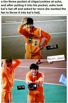 omg suho...you are my spirit animal...i think all of exo is in fact....