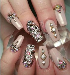 These nails ❤️❤️
