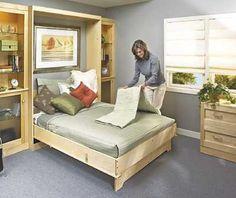 murphy bed  plan - build a murphy bed