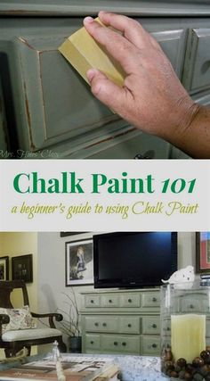-How to: paint furniture with Annie Sloan Chalk Paint Are you tyring chalk paint for the first time? Don't miss these Tips and Tutorials for Painting Furniture with Chalk Paint at Mrs. Hines' Class See it Refurbished Furniture, Repurposed Furniture, Furniture Makeover, Furniture Refinishing, Furniture Removal, Dresser Makeovers, China Cabinet Makeovers, Thomasville Furniture, Using Chalk Paint