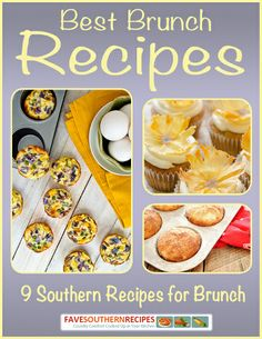 Looking for Easter brunch recipes? Check out this collection of Best Brunch Recipes: 9 Southern Recipe for Brunch!