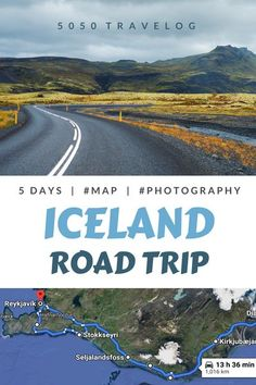 Planning an Iceland Road Trip? Check our 5-day itinerary including  a map and things to do. Seljalandsfoss, Skogafoss, Reynisfjara, Black Sand Beach, Reykjavik, and Blue Lagoon. Travel tips and photography inspiration in our blog. | #iceland #travel #bucketlist #vacation #adventure #exploring #photography #bluelagoon #reykjavik Iceland Road Trip, Road Trip Europe, Iceland Travel, Road Trips, Travel Through Europe, Travel Around The World, Travel Europe, European Road Trip, European Travel Tips